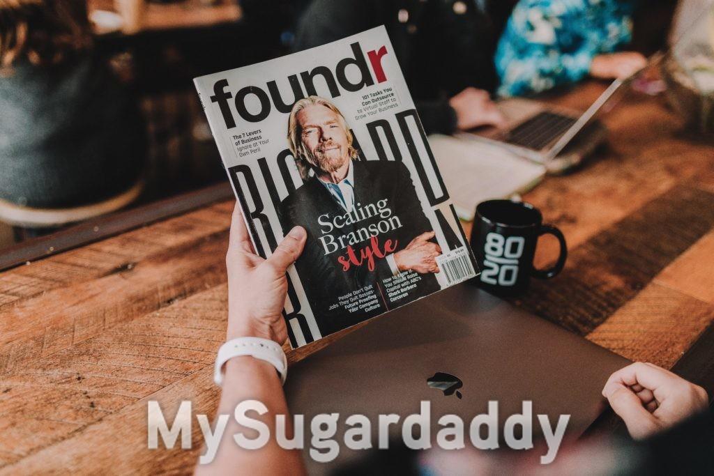 rivista con sugar daddy